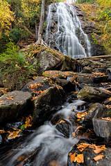Crabtree Falls (Avisek Choudhury) Tags: nikond800 nikon1635mm avisekchoudhury avisekchoudhuryphotography acratechballhead gitzo autumn fallcolor northcarolina crabtreefalls nc waterfall longexposure