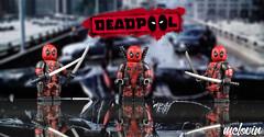 Deadpool (McLovin1309) Tags: deadpool custom lego minifigure ryan reynolds sword katana g bricks gbricks comic book hero superhero merc with mouth mercenary