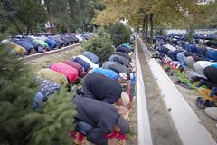 Qurban Prayer (sherenelim) Tags: qurban muslim prayer oldsquare bishkek kyrgyzstan
