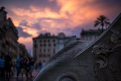 Sunset (Eric.Burniche) Tags: ancient ancientrome history travel sunset sunshine rome roma city sky romeitaly romaitaly italia italy