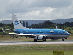 PH-BGX Boeing 737 KLM (Aircaft @ Gloucestershire Airport By James) Tags: manchester airport phbgx boeing 737 klm egcc james lloyds