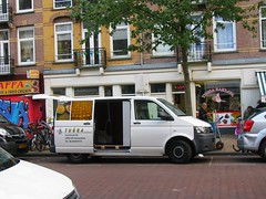 VEHICLE & BUSINESS No. 166 (streamer020nl) Tags: amsterdam 2016 111016 11oct16 holland nl nederland netherlands niederlande paysbas vehicle business javastraat 166 baklava tugra van shop oost amsterdamoost
