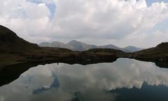 Lake Reflections (Richard Leese) Tags: romania fagaras transylvania transfagarasan mountains lake scenery hiking