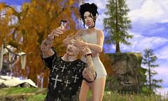 Filha Audrey Cerejinha (Mr.Ferraris) Tags: firestorm secondlife couple realistic realistique realista