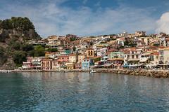 Parga (Thomas Mulchi) Tags: parga epirus greece 2016 traditionalhouses castle sea summer gr