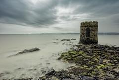Soon Cut Off (Perkvats Havatkov) Tags: castle sea shore coast le longexposure tower tide eosm