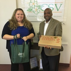 Cremation Society of Virginia, Chantilly - Donations for Local Hospices and Assisted Living Centers