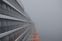 DSC_5812 (Vintage Alexandra) Tags: queen mary 2 ship ocean liner cunard qm2 travel fog