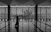 mosque (abtabt) Tags: malaysia kualalumpur kl mosque architecture building muslim d7001835g reflection girl silhouette mirror indoor islamic hijab pedestrians shadow
