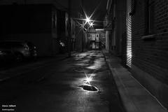 Avenue Marchand (Denis Hbert) Tags: denishbert anthropogeo faubourgmlasse centresud montreal montral qubec quebec canada 2015 monochrome montrealnight montrealcentresudnight montrealfaubourgmlassenight ngc noiretblanc nuitcentresud nuitmontreal nuitfaubourgmlasse nuit night bw blackandwhite blackwhite black city calme extrieur automne avenuemarchand steet shadowy shadows shadow fullum fall dark darkandlight ombrage ombre sombre urban urbain rue ville tranquilit trottoir quiet