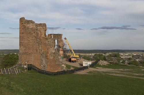 Ruins of Navahrudak Castle, 02.05.2014.