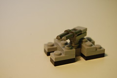 Halo Grizzly (my name is schimmi) Tags: lego micro halo wars grizzly tank halowars