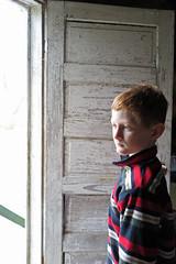 satdoorlightch (babyfella2007) Tags: backyard yard leaves fall autumn cat hemmingway child boy young door light old painted chipping paint michelle carson grant jason taylor winnsboro sc south carolina batesburg beaufort southern mother son garden gun granite garage wall craftsman bungalow rock stone