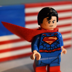 Hope. (Andrew Cookston) Tags: lego dccomics dc comics superman clarkkent new52 n52 america usa flag phoenixcustoms phoenixcustomsllc phoenixcustomsbricks phoenix custom minifig stilllife toy macro photography andrewcookston