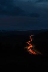 DAN_8022 (dan_c_west) Tags: nikon d750 peak district national park night lighttrails light cars