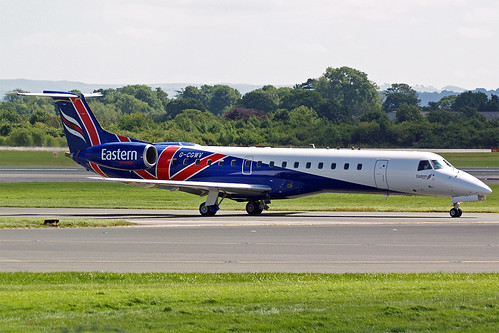 Eastern Airways Embraer ERJ-145 G-CGWV