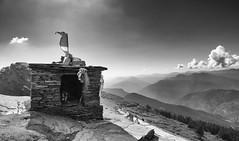 Ganesh Temple at Chopta (AnilGoyal Pixelart) Tags: landscape chopta tungnath thirdkedar kedarnath hinduism temple ganesha ganesh shiva kedar keadrnath worldshighestshivatemple highestshivatempleinworld hindu trekking uttarakhand uttaranchal rudraprayag district trip travel traveller anil anilgoyal atharvgoyal against light nature againstlight