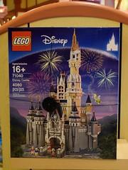 Disneyland Visit 2016-11-06 - Downtown Disney - World of Disney - Merchandise - LEGO Disney Castle (drj1828) Tags: us disneyland dlr visit 2016 downtowndisney worldofdisney merchandise
