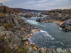 Great Falls View (jiroseM43) Tags: greatfalls greatfallsnationalpark potomac potomacriver virginia panasonic gx7 1235mm lumix