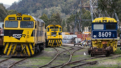 44204 + 4701 + 8609 Lithgow -2527 (Matty 8o) Tags: railway railways rail train trains enthusiast travel travelling trainspotting new south wales newsouthwales nsw australia australian photograph photo photography transport transportation canon700d canon 700d outdoor vehicle spotter spotting trainspotter trainphoto trainphotography railwayphotography weather sydney suburb mainline trainlink 442 44204 4701 47 8609 86 class ssr southern shorthaul railroad southernshorthaulrailroad strip scrap