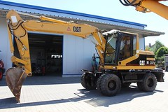 Cat M312 (Vehicle Tim) Tags: caterpillar cat bagger radbagger bau baumaschine fahrzeug construction machinery