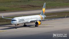 2016, 757-300, CGN, Condor, D-ABOG, Hannover Airport Sticker, Special Markings,2,Canon EOS 6D,EF100-400mm f-4.5-5.6L IS II USM,.jpg (jncgn) Tags: dabog specialmarkings condor 757300 hannoverairportsticker cgn airport cologne eddk flughafen germany konradadenauerairport kln klnbonn klnbonnairport runway aereo aeroplane aeroporto aeropuerto airplane airplanes aviao avion luchthaven plane planes vliegtuig
