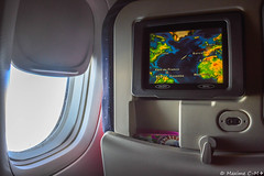 Seat 40A (Maxime C-M ) Tags: airplane tv aircraft map heavy aviation window world 2016 july entertainment martinique caribbean french west indies antilles fly sky light middle vol avion gros porteur atlantic ocean