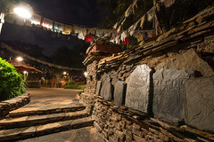Nepalese Monuments (wdwben) Tags: waltdisneyworld waltdisney waltdisneyworldresort waltdisneyworldparksandresorts disney disneyworld disneyparks disneyparksandresorts disneysanimalkingdom everest expeditioneverest night nikond610 1424mmf28 nikon1424mm