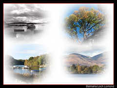 montage_framed (monyet_uk) Tags: lochlomond balmaha lusshills boats water