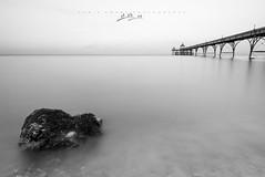Simples (Chris Sweet Photography) Tags: clevedon pier seascape longexposure somerset landscape water ocean bristolchannel tamron nikon mono outdoors