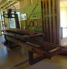 sierra de tronco de arbol Museo del Bosque Parque Natural Sierra Urbion Soria 15 (Rafael Gomez - http://micamara.es) Tags: museo del bosque parque natural sierra urbion soria urbión de tronco arbol