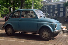 Baby blue (Couldn't Call It Unexpected) Tags: fiat bambino 500 baby blue