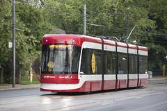 Toronto's Newest LRV Streetcar (cjb_photography) Tags: toronto transit commission lrv torontophoto torontolife torontoclicks lakeshoreboulevard tracks