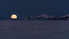 Supermond 001 (bertheeb) Tags: supermond mondaufgang mond moon nikon d750