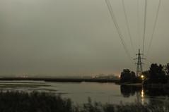 (Bo Men Shi) Tags: night mist lake