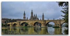 Ebro (jaroro70) Tags: jaroro70 rio ebro puente piedra arcos zaragoza aragon basilica el pilar pozo san lazaro