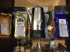 SD Bell's Coffee Shop, Belfast (John D McDonald) Tags: yemen matari yemenmatari kopiluwak civetcat civetcatcoffee civetcoffee civet bluemountainjamaica bluemountain jamaica jamaican jamaicancoffee bmj percolator elgento elgentopercolator elgentocoffeepercolator coffeepercolator sdbell sdbells sdbellteaandcoffee sdbellsteaandcoffee leafandberry theleafandberry belfast eastbelfast knock newtownardsroad uppernewtownardsroad countydown codown down northernireland ni ulster coffee coffeeshop geotagged iphone appleiphone iphone6 appleiphone6 object objects stilllife