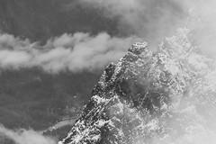 South Side of Mt Index (10) (Scott_Nelson) Tags: goldbar washington unitedstates us cascades cascadesfromtheair northcascadesfromtheair monroe airphotography blackandwhite mountians