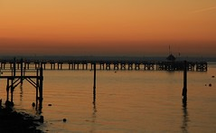 Sunset Yarmouth Pier - Isle of Wight 011216 (Richard Collier - Wildlife and Travel Photography) Tags: isleofwight yarmouth coastal southcoast sunset