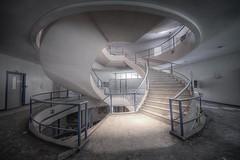 Stairway Roundabout (SilverCube.nl) Tags: urban stair decay stairway urbex silvercube hofvanb