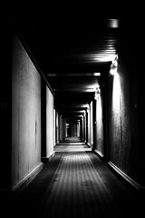 76/365 Last day on Isola2000 - a corridor of the station (AdrianGalle) Tags: bw white black france station canon project eos one photo noir day picture corridor nb days jour 5d adrian 365 galle per et blanc par une markii projet jours isola2000 76365 adriangalle