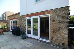 "Westbury Rear Extension External Bespoke Slidding Doors  204 • <a style=""font-size:0.8em;"" href=""https://www.flickr.com/photos/77639611@N03/7043218167/"" target=""_blank"">View on Flickr</a>"