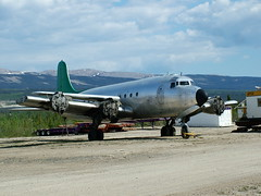 DC4_C-GXKN_READY FOR SHIPPING (Anson Chappell) Tags: ice airplane buffalo nwt airways pilots