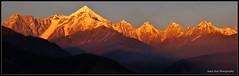 Pancha Chulli On Fire (Sujoy75) Tags: sunset panorama india himalaya uttarakhand incredibleindia munsiyari panchachulli