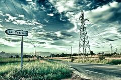 La Castelle (O.MachinTruc) Tags: road cloud landscape nikon pix montpellier route hdr olivier maurin lattes hrault electrique machintruc micheli d5000 lacastelle