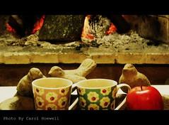 Ch de goiabada com ma (CANELA COOL by CAROL) Tags: apple tea ch ma goiaba
