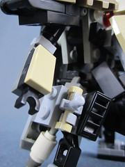 Arm and Torso detail (Messymaru) Tags: original infantry robot lego grunt mecha mech moc