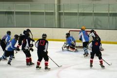 April 2013 - Nordiques at Thrashers (Keith_Beecham) Tags: usa hockey kevin unitedstates pennsylvania april hatfield nordiques inhouse thrashers 2013