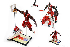 "Michael Jordan - Chicago Bulls (""Orion Pax"") Tags: chicago basketball lego bulls sneakers nba michaeljordan chicagobulls jordans orionpax"