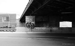 (Into Space!) Tags: street city urban graffiti photo highway detroit tags chub graff d30 bombing throw fill throwie wyse wge intospace intospaces